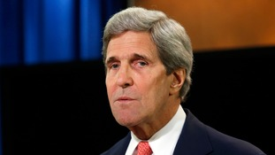 The US Secretary of State John Kerry