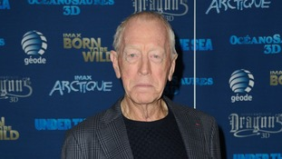 Max von Sydow is a veteran Swedish actor.