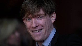 Domhnall Gleeson played Ron Weasley's brother Bill.