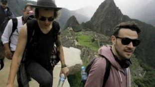 One Direction stars stop by Machu Picchu