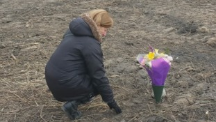 Elaine Joseph finally sees her daughter Tomika's grave.