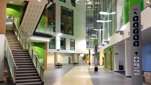 The main atrium