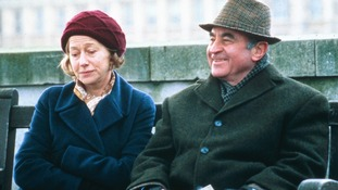 With Helen Mirren in Last Orders -  Hoskins starred as Ray.