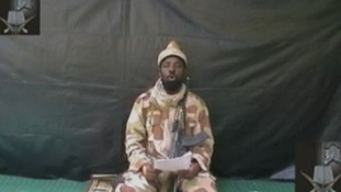 A Boko Haram fighter in a promotional video.