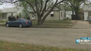 Police in the Wichita neighbourhood were the shooting took place.