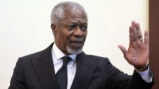 Kofi Annan on Syria: 'This can't go on forever'