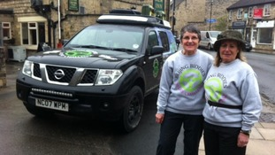 Yorkshire ladies set off on 8,500 mile charity drive