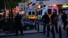The scene of the summer 2011 riots in Birmingham city centre