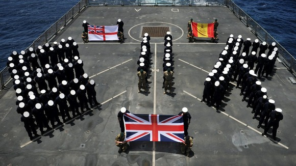 HMS Daring, which is currently on a seven-month deployment in the Middle East.