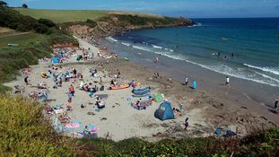 Cornwall beaches were worst-hit by marine litter.