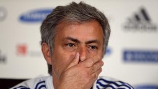 Jose Mourinho: 'I'm not happy'