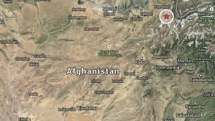The landslide happened near a mountain in the Badakshan region.