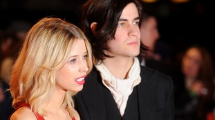 Peaches Geldof with husband Thomas Cohen.