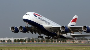 Health officials are in the process of contacting British airline passengers who may have made contact with a passenger