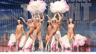 Six women and two men make up Crazy Rouge, who will show their routine to the judges tonight.