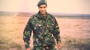 Flight Lieutenant Rakesh Chauhan