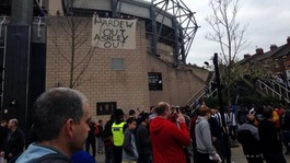 Newcastle fans walk out after 69 minutes