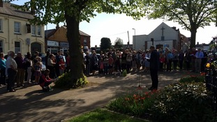 Crowds gather to remember Madeleine McCann