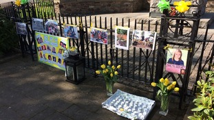 Tributes at inter-faith gathering for Madeleine McCann
