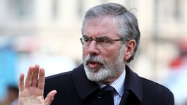 'Insufficient evidence' on Gerry Adams for prosecution