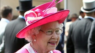 Her Majesty at the Epsom Downs Racecourse last year.
