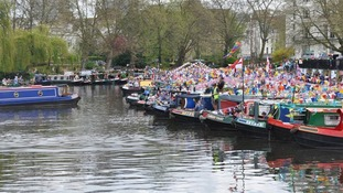 narrowboats at Little Venice