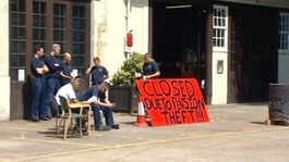 Firefighters stage third day of strikes