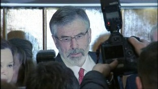 Adams attacks reasons for his detention and denies McConville murder