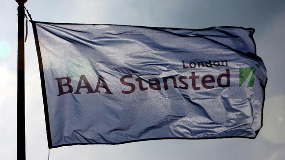 BAA flag at Stansted Airport
