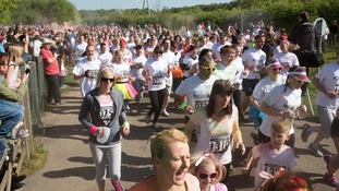 Thousands take part in multi-colour charity event