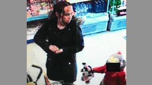 Police are hunting this woman in connection with the theft of pension money