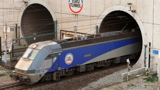 Channel Tunnel, Folkestone