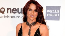 Britney Spears, pictured in March, is being sued by a dancer who says the singer broke her nose.