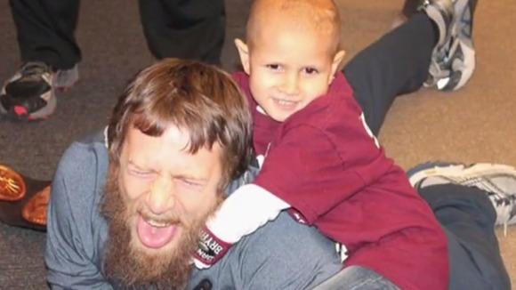 Boy Gets Christmas Wish & Meets WWE's Daniel Bryan