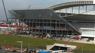 There is still a lot of work that needs to be done at Sao Paulo's Itaquera stadium.