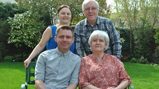 Warrington dad's triple transplant success