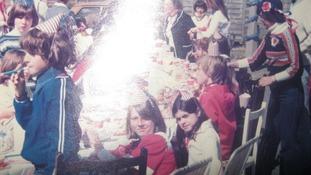 The Lon Werdd street party in 1977