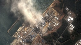 The No.3 nuclear reactor of the Fukushima Daiichi nuclear plant, March 14, 2011