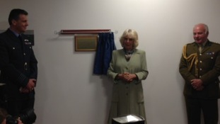 Duchess opening medical centre at RAF Leeming