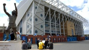 Cameras were installed inside Elland Road