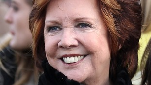 Cilla Black during the The Sportingbet Winter Festival, Hennessy Gold Cup Day at Newbury Racecourse.