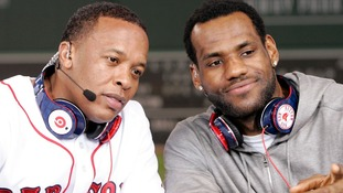 Dr. Dre and LeBron James