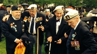 British Arctic Convoy veterans honoured on board HMS Belfast