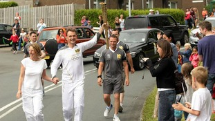 Olympic Torch - from Liverpool to the Isle of Man