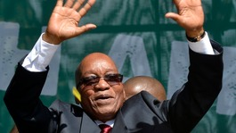 Second term for Zuma as ANC wins South Africa election