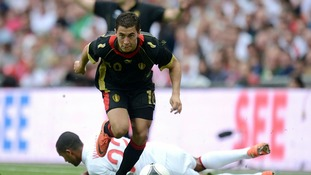 There has been much speculation linking Belgian striker Eden Hazard with Chelsea this week