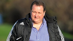 Mike Ashley, owner of Newcastle football club and JJB Sports, comes 23rd with £3.75 billion