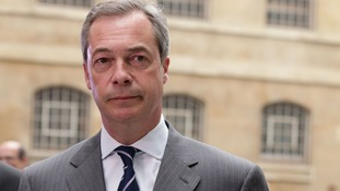 Nigel Farage defended previous comments by Ukip candidate Roger Helmer.