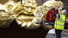 Close up Royal Barge