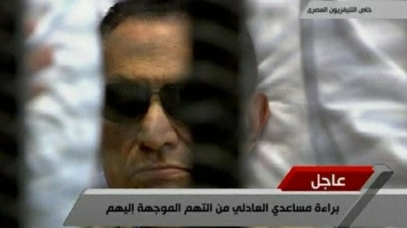 Former Egyptian president Hosni Mubarak has been sentenced to life in prison.